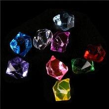 Украшение для дома, украшение, подарок, стразы, акрил, кристалл, драгоценный камень, ледяные камни, стол, разброс, ваза, украшение