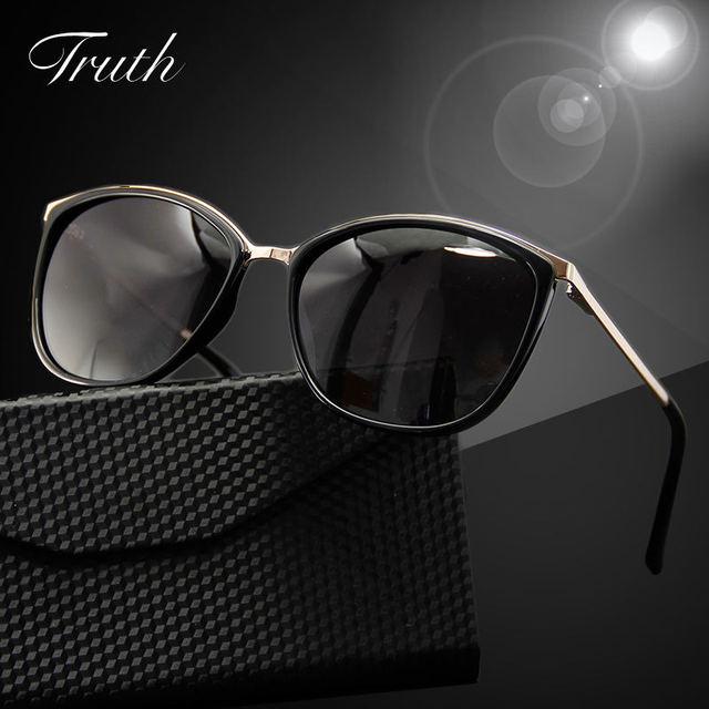 64f66eb3d2 TRUTH oval sunglasses women polarized acetate luxury woman brand flex hinge  clear Gradient in case lunettes de soleil homme