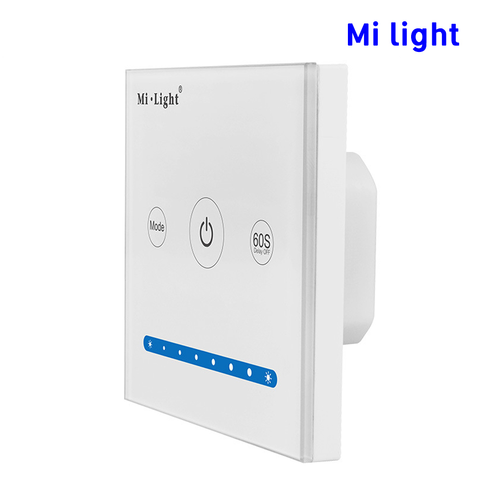 BSOD LED Panel Controller Brightness Dimming Milight P1 Smart Dimmer DC12V24V Adjustable Switch Wall for led strip