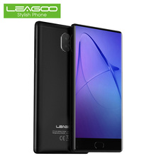 Auf Lager Leagoo Kiicaa Mix Entsperren 4G LTE Dual Sim Smartphone 5,5 Zoll 1920*1080 Full Screen Handy Android 7.0 3 + 32 Typ C