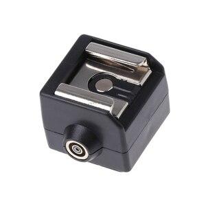 Image 2 - Mới SC 2 Hot Shoe Adapter Chuyển Đổi Đồng Bộ PC Ổ Cắm Cho Canon Nikon Pentax Camera