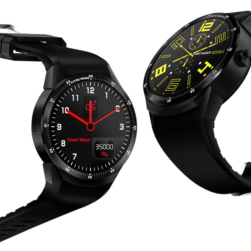 1.2G High Chip 4GB ROM Smart Watch 3G GPS WiFi Internet Bluetooth Sync Fitness Heart Rate Tracker Multifunction VS DM98 KW88 smart baby watch q60s детские часы с gps голубые
