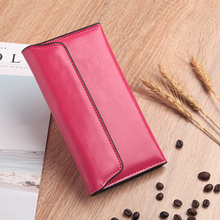 Leather Fashion Women Wallets Lady Wallet Female Purse Clutch Luxury Brand Vintage Money Bag Girl Coin Pocket portefeuille femme