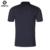 De alta Calidad de Los Hombres Camisa de Polo de Algodón Impresión de La Manera Anti-pilling Polos Camisas de Verano Marca de Ropa de manga Corta ocasional Más Tamaño