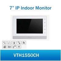 DH VTH1550CH крытый монитор 7 дюймов Сенсорный экран Цвет ip видео домофон 800X480 Разрешение