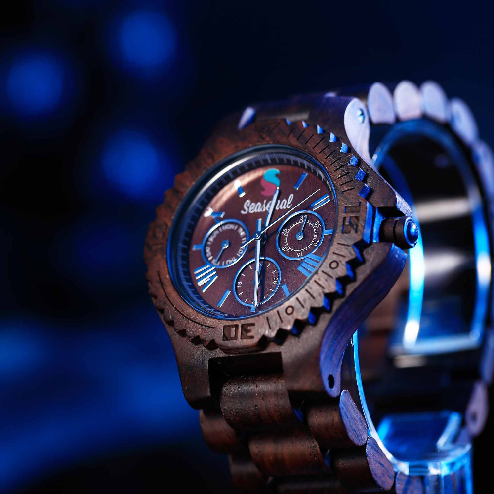 Fashion Seasonal New Design Natural Wooden Watch High Quality Japan Movement Sandalwood Quartz Watch Men relogio