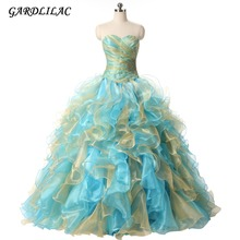 Vestidos de 15 anos Noble  Quinceanera Dresses 2017 Sweetheart Gowns with beading Tulle Custom Made