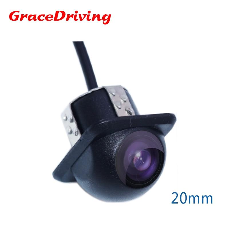 Promocija CCD HD Rearview Vodootporan noćni vid 170 stupnjeva Širokokutna Luxur auto stražnja kamera za vožnju unatrag rezervnu kameru
