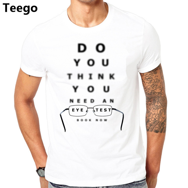 Optician T-Shirt This is what an Looks Like Mens Funny Glasses Vision Top TEE