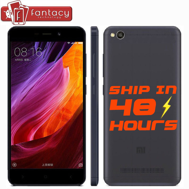 "Оригинал xiaomi redmi 4а 4 смартфон snapdragon 425 quad core 2 г ram 16 г rom fdd lte 4 г 5 ""HD 13MP 1280x720 P MIUI 8.1 OTA"