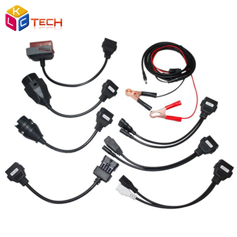 Good Quality OBDII OBD2 Full Set 8 Car Cables Car Cable