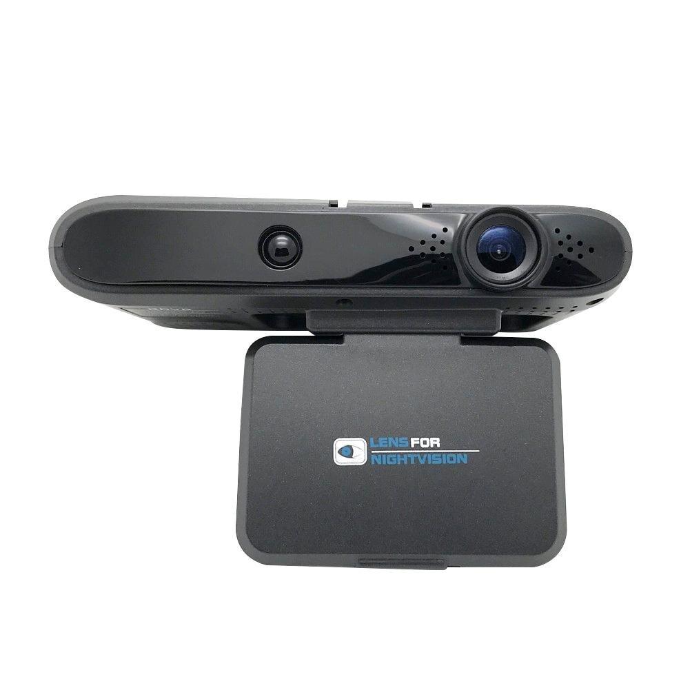 Nouvelle caméra de tableau de bord de voiture automatique 2 en 1 720 P DVR cam enregistreur de caméra de voiture Radar de vitesse Mobile dans les accessoires de caméra de tableau de bord