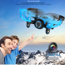 JXD 512V Quadcopter Mini Drone with Camera VGA Flying Saucer 2.4G Rc Helicopter Headless Toy