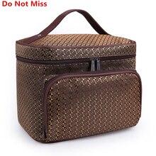 Do Not Miss Women Cosmetic Makeup Bag Folding Travel Makeup Organizer Bag Waterproof Cosmetic Bag Makeup Brushes Case Wash Bags