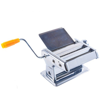 2 klinge Edelstahl Linguine Pasta Maschine Manuelle Spaghetti Maker Nudel Presse Cutter Ausrollmaschine Werkzeuge 6 Getriebe Dicke-in Manuelle Nudelbereiter aus Heim und Garten bei