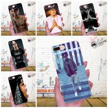 TPU estuche celda con cubierta Pop firmante August Alsina estrella de la música para el iPhone de Apple 4 4S 5 5C 5S SE 6 6S 7 8 Plus X XS X Max XR