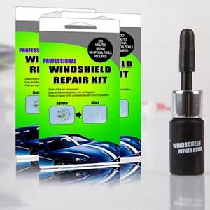 Image 5 - Kit di strumenti per la riparazione del parabrezza per Auto fai da te Set di riparazione per parabrezza in vetro automatico (adesivi decorativi protettivi per maniglia della porta regalo)