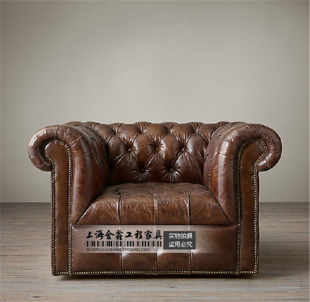 Armchair Antique American Country To Do The Old French Italian Leather Sofa Couch Neoclical Trade
