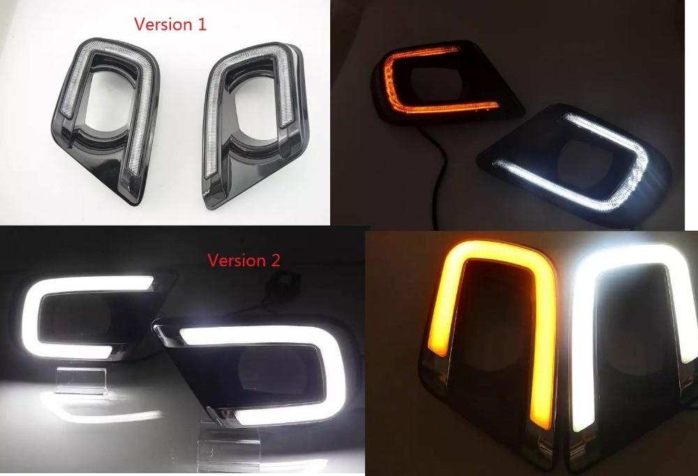 Osmrk Сид DRL дневного света для Dodge JCUV/путешествие 2013-15 высокое качество с желтыми поворотниками