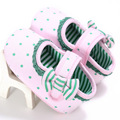 0-1 year old Female baby Shoes soft BottomFashion baby shoes Butterfly-knot First Walk Learning shoes YD249