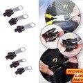 Popular 3 Tamanho 6 pcs Substituição Zip Instantânea Universal Cabeça Zíper Roupas Malas