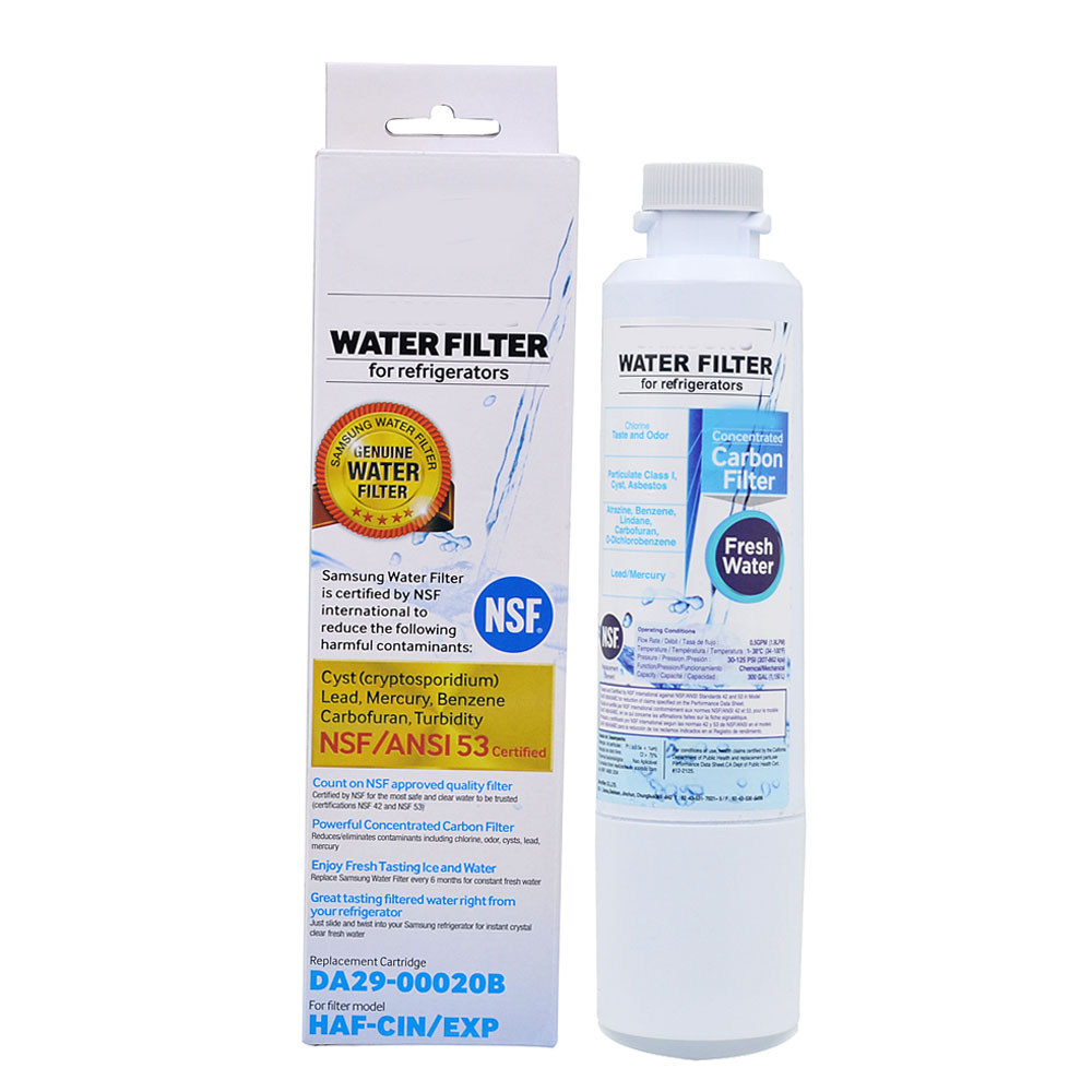 NEW Household Water Purifiers Refrigerator Water Filter Cartridge Activated Carbon Replacement for Samsung DA29 00020B 5 Pcs/lot-in Water Filters from Home Appliances    2
