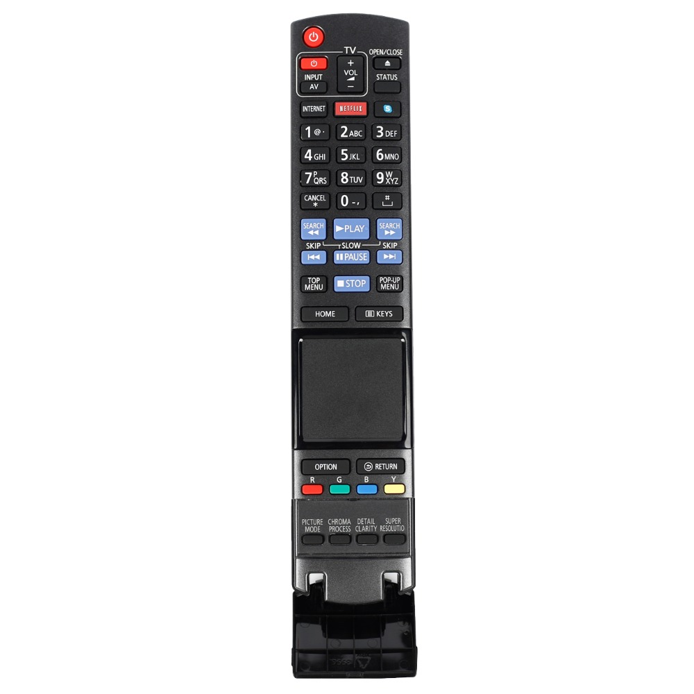 New remote control for Panasonic TV Blu-ray DVD DISC palyer remote conctroller N2QAYB000766 new remote control suitbale for panasonic 3d blu ray dvd player controller n2qayb000713