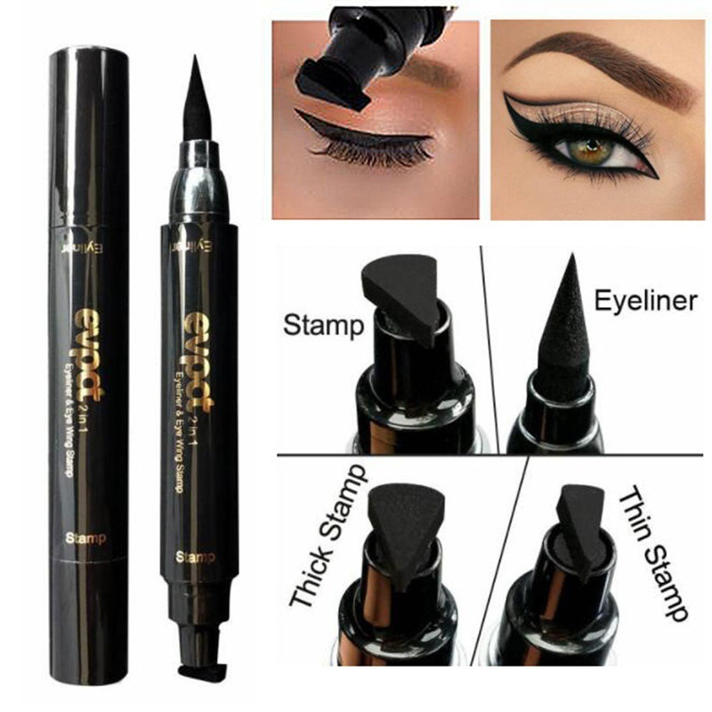 1PC New Brand Women Black Liquid Eyeliner Long-lasting Waterproof Party Eye Liner Pencil Pen Nice Makeup Cosmetic Tools