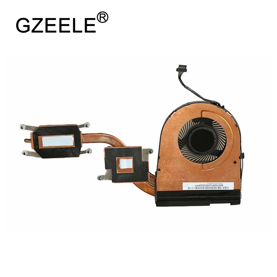 GZEELE new CPU FAN FOR LENOVO for THINKPAD YOGA 15 CPU COOLING FAN With Heatsink KDB0705HC FRU P/N:00JT286 for acer aspire v3 772g notebook pc heatsink fan fit for gtx850 and gtx760m gpu 100% tested
