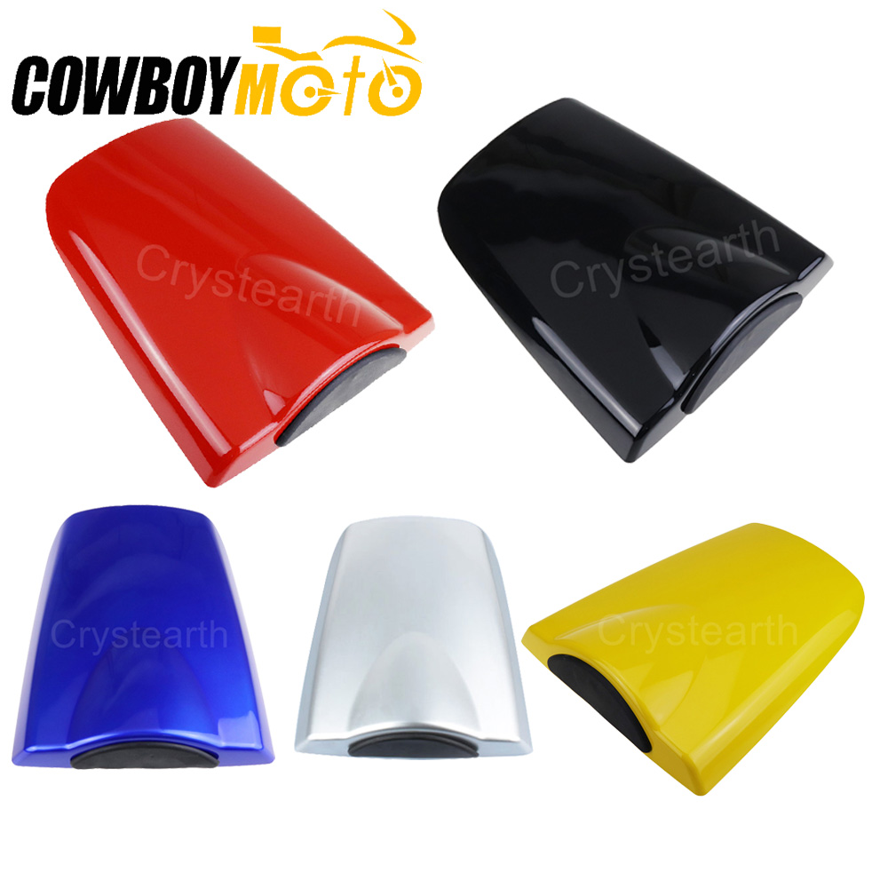 Black Blue Red Rear Seat Cover Cowl Solo Motorcycle Seat Cowl For <font><b>Honda</b></font> CBR600RR 2003 <font><b>2004</b></font> 2005 2006 <font><b>CBR</b></font> <font><b>600</b></font> RR 03 04 05 06 image