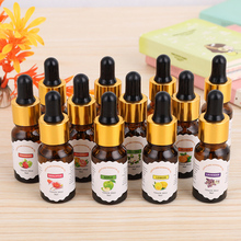 10ml Pure Essential Oils Water-soluble Flower Fruit Essential Oil Reli