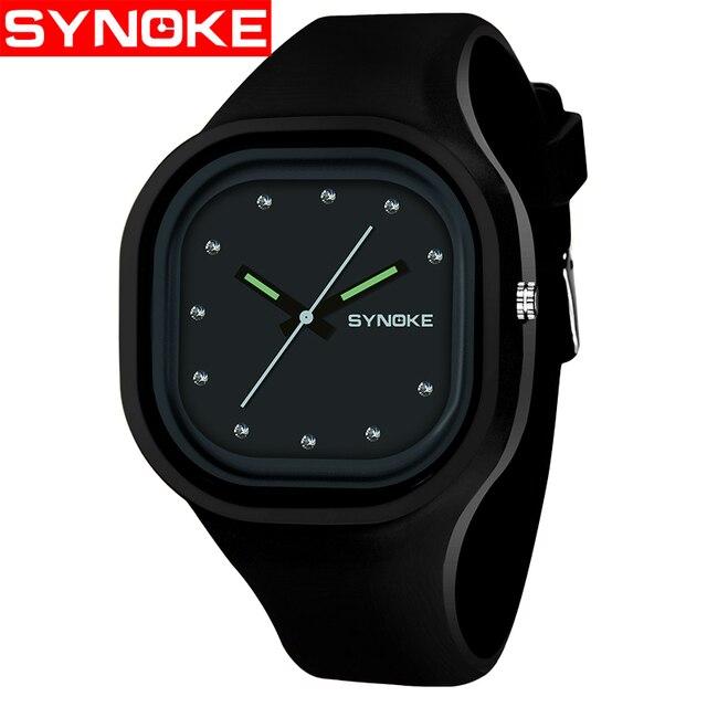 SYNOKE Fashion Quartz Watches Men Women Sport Wrist Watch Top Brand Famous Male