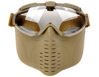 Homens táticos Meia Face de Malha de Arame de Airsoft Máscara Máscara Para Caça Ao Ar Livre Tiro OS9-0008 Paitball