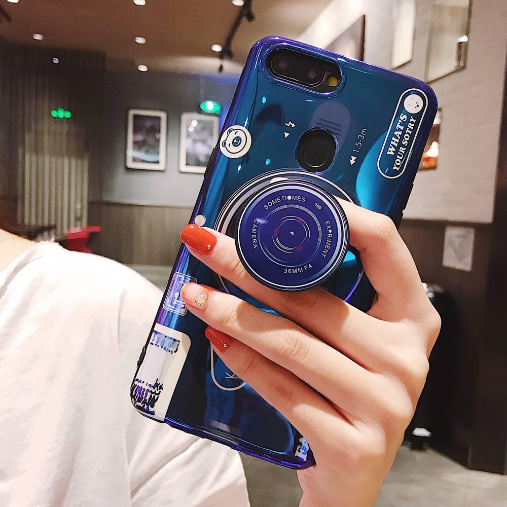 Phone Case For huawei Nova 3i 3 Case Camera Stand Holder