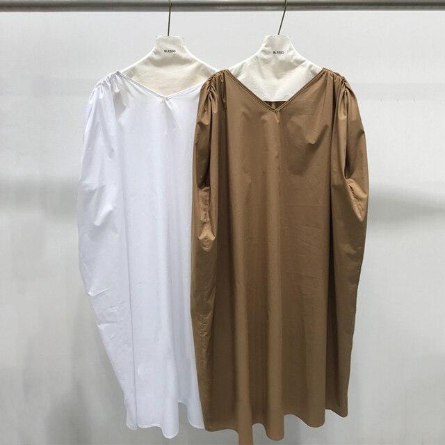 Sleeveless Dress V Neck...