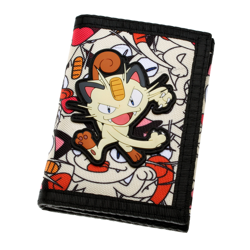 Nintendo Pokemon Meowth Trifold Canvas Wallet DFT-2033 шабалов д метро 2033 право на жизнь