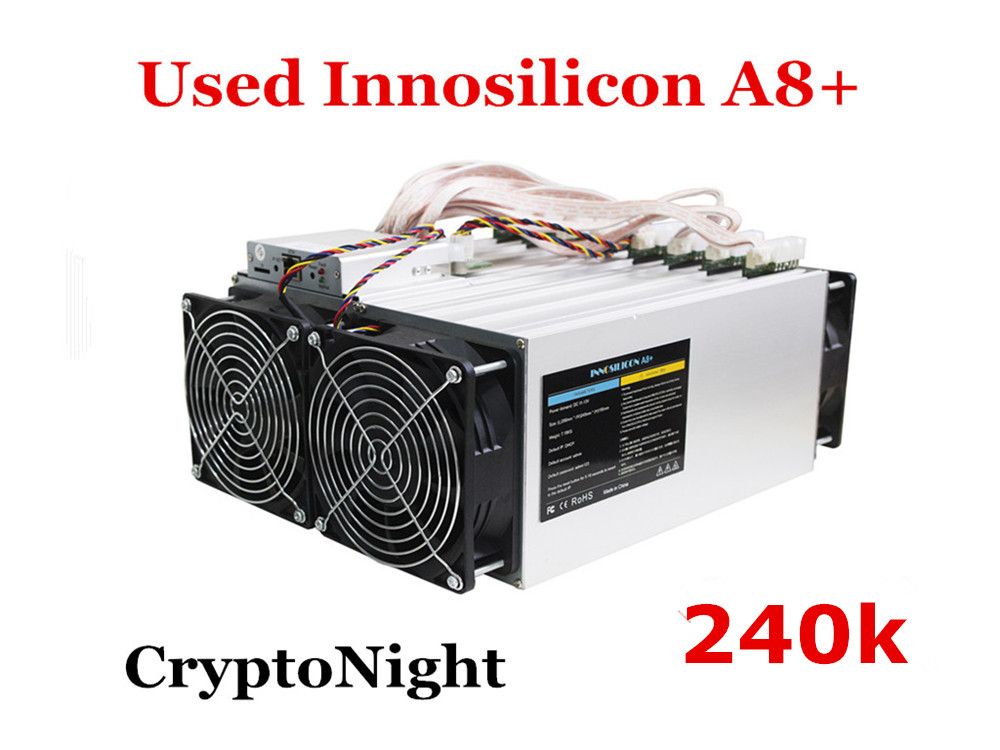 The CrptoNight Miner Innosilicon A8+ 240k 480W XMC ETN Miner Better Than Antminer S9 X3 Z9 S11 Z11 S15 WhatsMiner M3