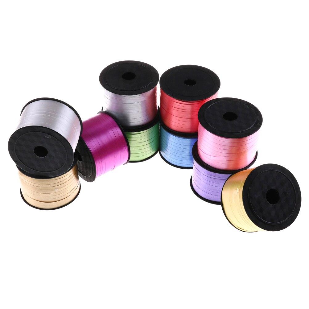 1 Pz 0.5 Cm Nastro Laser Per La Decorazione Del Partito Compleanno Decorazione Di Cerimonia Nuziale 100 Yard Fai Da Te Accessori Colorati Palloncini Nastri Meno Caro