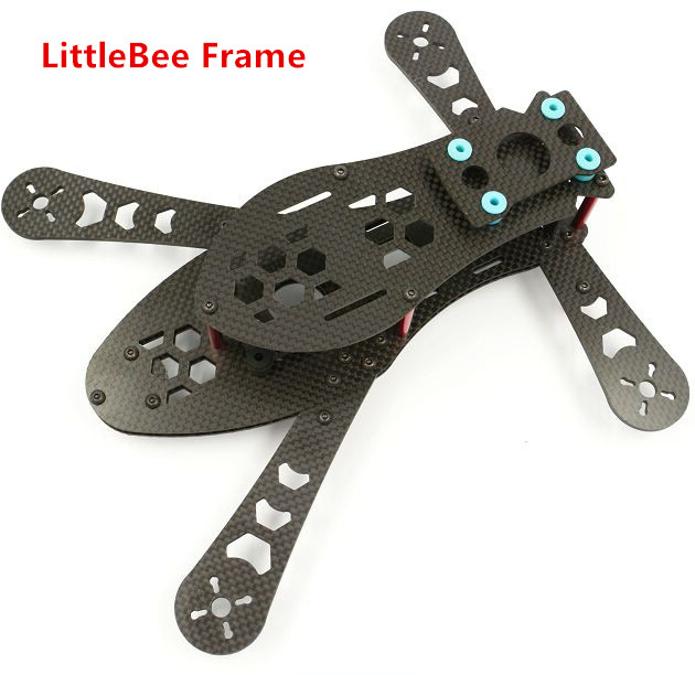 FPV Carbon Fiber LittleBee Frame 250 250mm LittleBee250 MiniBEE250 Frame FPV Racing Drone For QAV R 220 QAV X 214