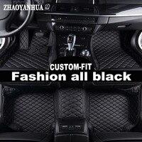 ZHAOYANHUA car floor mats for Mercedes Benz G350 G500 G55 G63 AMG W164 W166 M ML GLE X164 X166 GL GLS 320 350 400 420 carpet