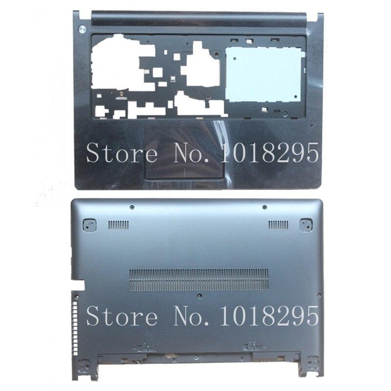NEW BLACK COLOR FOR Lenovo Ideapad S400 S405 S410 S415 C Shell Palmrest Cover /D shell Bottom Case/Palmrest Cover+Bottom Case brand new bottom case for samsung np700g7a bottom case bottom shell d cover ba75 03330a