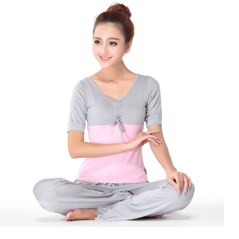 f81785305165f Autumn 2pc sets Plus Size Women s Yoga Sets Fitness Tracksuit Clothes  patchwork Modal Yoga Sports Gym Sportswear for Women on Aliexpress.com