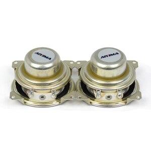 Image 5 - AIYIMA 2Pcs 1,5 Zoll Vollständige Palette Lautsprecher 8 Ohm 2W Neodym Magnet Tragbare Audio Lautsprecher Für Satelliten Spalte loudpeaker