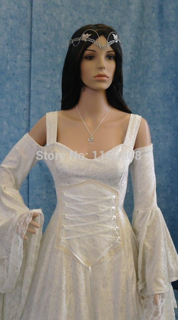 Atemberaubende Renaissance Mittelalterlichen Stil Kleid Renaissance ...