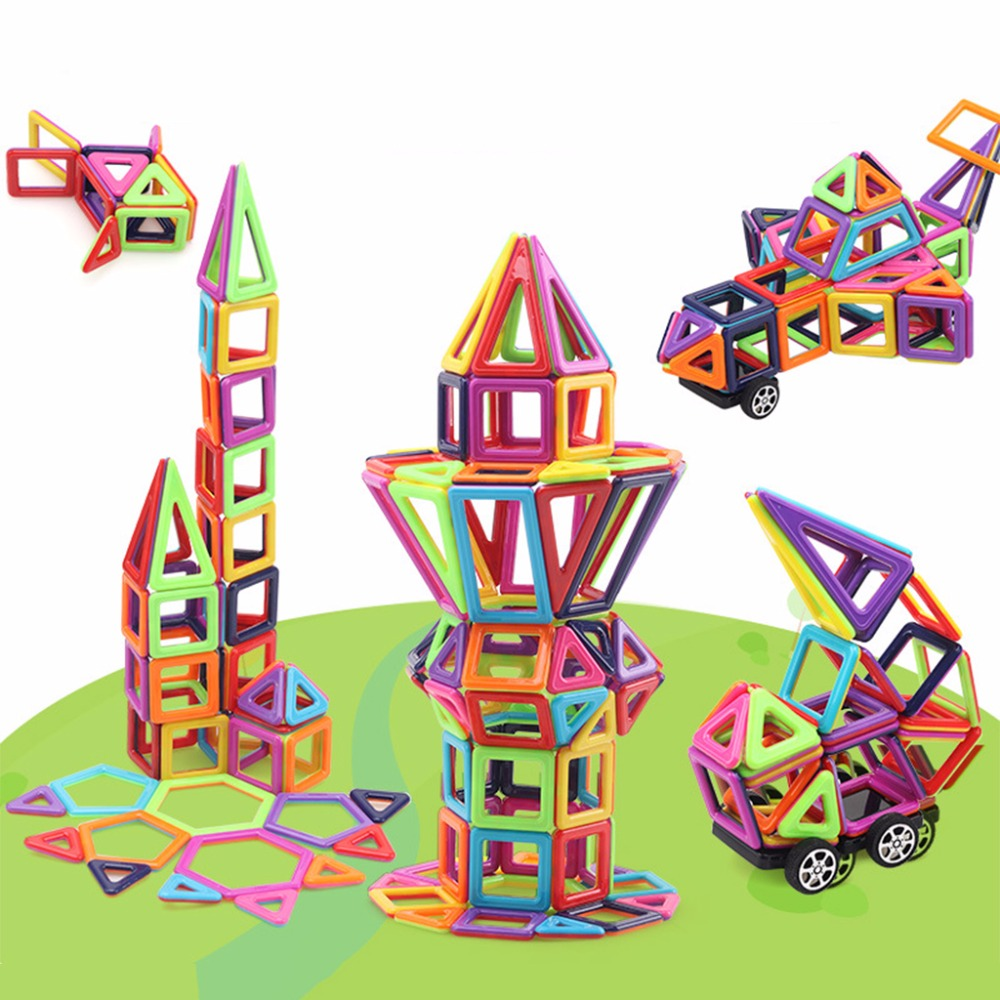 145Pcs Magnetic Building Blocks Tiles Educational Toys for Baby Kids DIY Gift New 1000g dynamic amazing diy educational toys plasticine indoor magic play do dry sands mars space sands color clay for kids