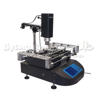 Factory Price 3 Temperature Area BGA Rework Station HT R490 With LCD Touch Screen Upgrade From