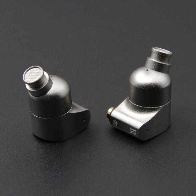 NICEHCK RayAudio RA02 Double Dynamic Drive Unit In Ear Earphone Bass Subwoofer DIY HIFI Earphone Professional Tuning