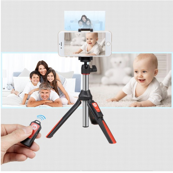 BENRO MK10 Handheld Tripod 3 in 1 Self-portrait Monopod Extendable Phone Selfie Stick