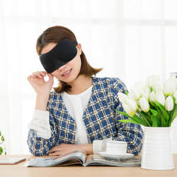 3D Путешествия сна глаз маска помощи тени сна остальной Глаза крышка унисекс мягкий оттенок Blindfold наручники щит путешествия спать с