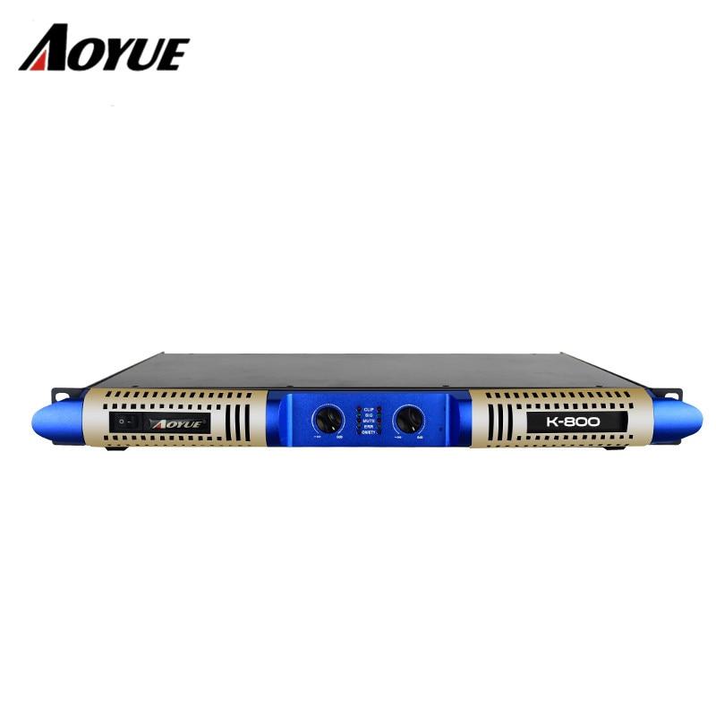 800w 2 channel class D digital amp professional 1 U power amplifier стоимость